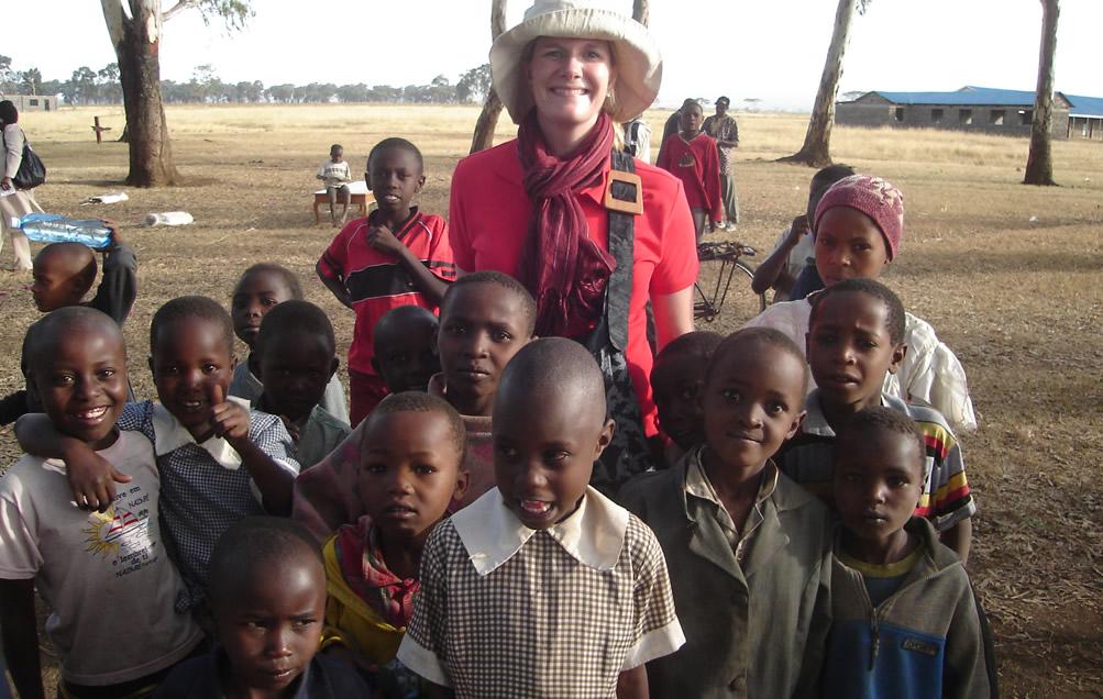 Amanda Van den Dool (MFP17) in Kenya