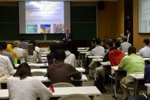 Mansfield Fellow Speaks at Tohoku University   Mansfield